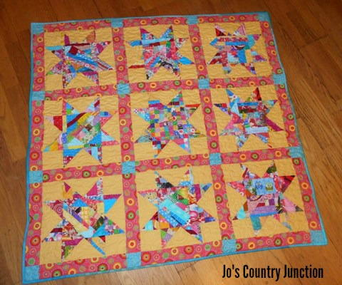 Sunday in the Park Baby Quilt