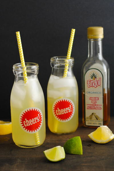 Better Than Panera Agave Lemonade Recipe