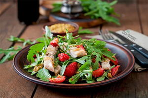 Summery Strawberry Chicken Salad