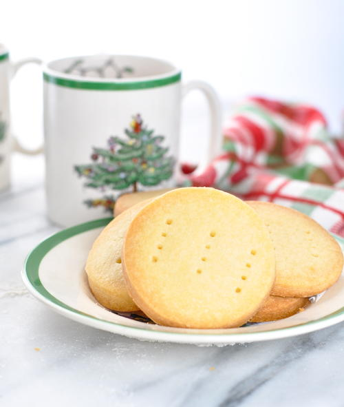 3-Ingredient Classic Scottish Shortbread Cookies