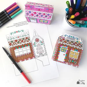 Printable Gingerbread House