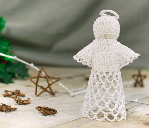 Delicate Crochet Lace Angel