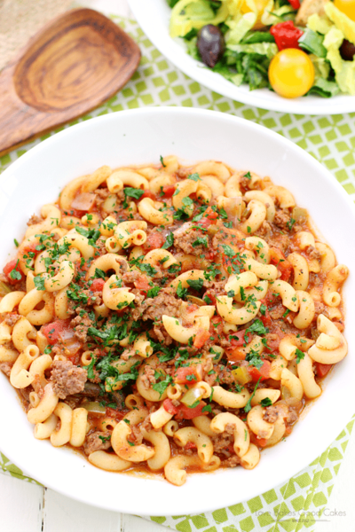 Homestyle One Pot Goulash