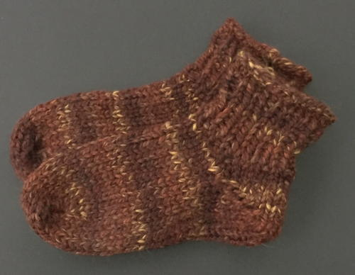 One Skein Knit Thick Socks