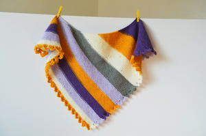 Dragon Tail Knit Shawl