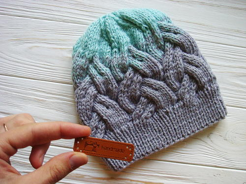 Northern Lights Knit Hat