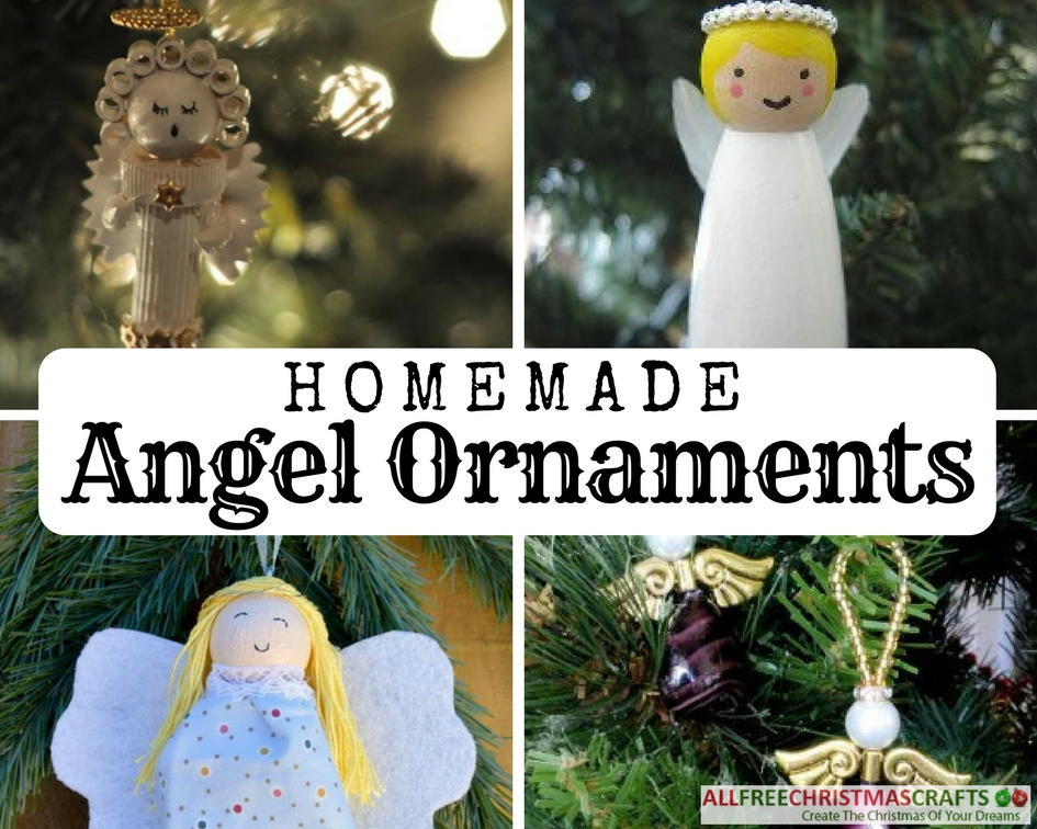 15 Homemade Angel Ornaments AllFreeChristmasCrafts