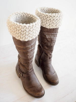 Elizabeth Stitch Boot Cuff