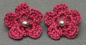 Crochet Embellishments for Earrings