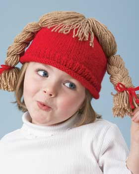 Silly Hair Hats for Kids