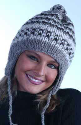Double Knit Hat with Earflaps