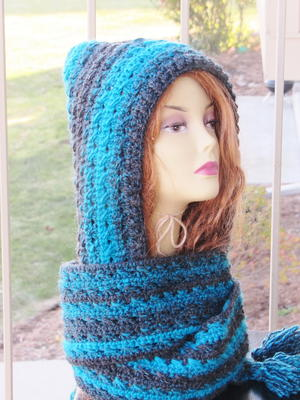 Heidi Hooded Scarf