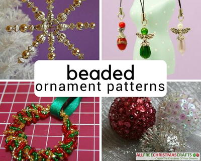 image regarding Pony Bead Patterns Free Printable named 42 Beaded Ornament Habits By yourself Cant Fight