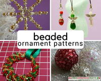 42 Beaded Ornament Patterns You Can't Beat