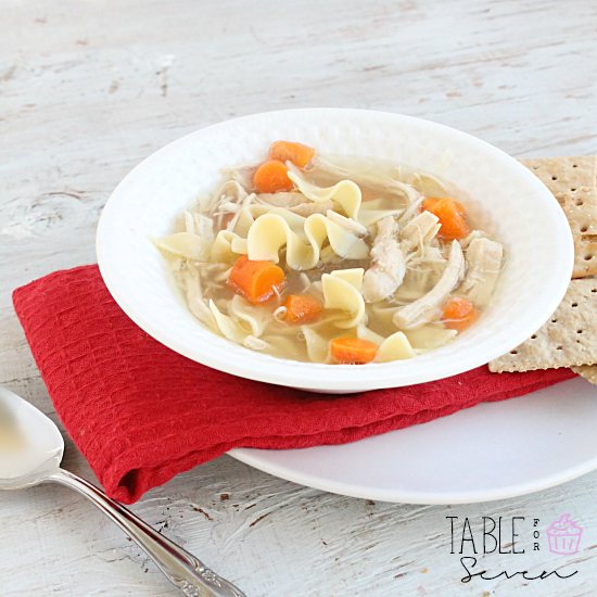Comforting Slow Cooker Chicken Noodle Soup