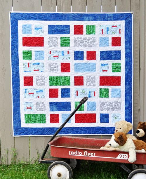 Scooter Kids Quilt Pattern