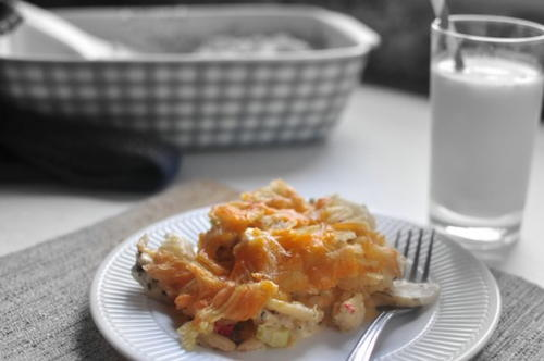 Retro Chicken n Chips Casserole