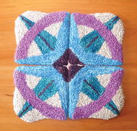 Dear Beginning Rug Hooker: Compass Rose Project
