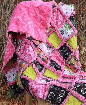 15 Baby Rag Quilt Patterns | FaveQuilts com