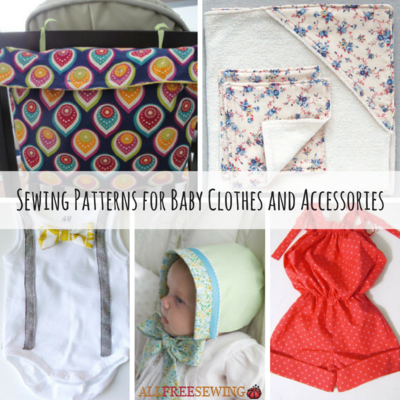 Free Sewn Baby Clothes Projects Allfreesewing Com