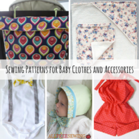 42 Sewing Patterns for Baby Clothes and Accessories