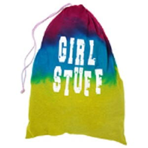 Girl Stuff Tie Dye Bag