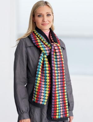 Colorful Crochet Scarf