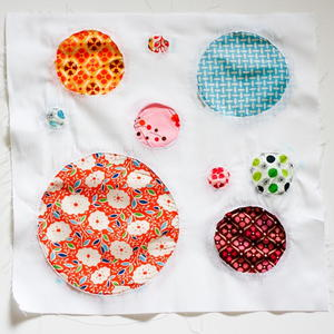 Reverse Applique Circles Block