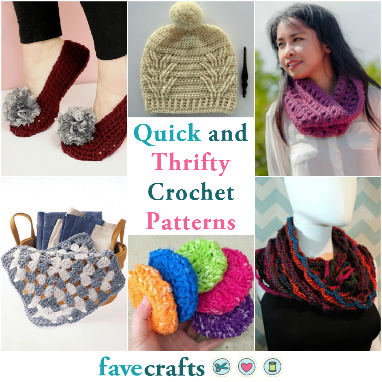 49 Quick And Thrifty Free Easy Crochet Patterns