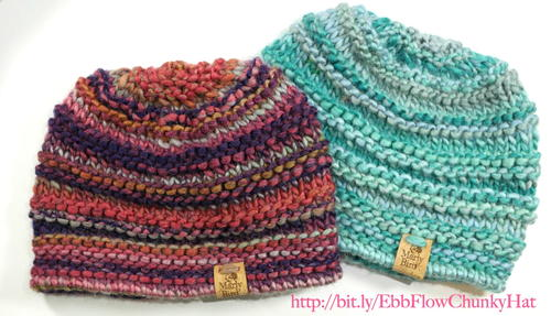 Ebb and Flow Chunky Knit Hat