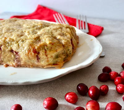 Cranberry Sauce Turkey Meatloaf