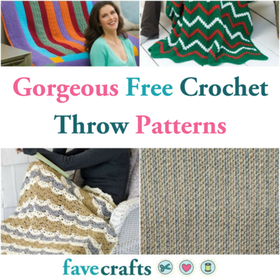83abd5ef03eb Free Crochet Throw Patterns  21 Gorgeous Blankets