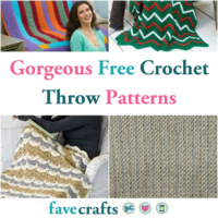 21 Gorgeous Free Crochet Throw Patterns