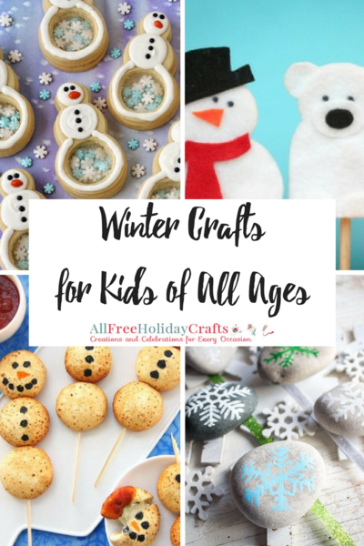 25 Winter Crafts for Kids of All Ages