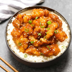 Takeout-Style Slow Cooker General Tso's Chicken