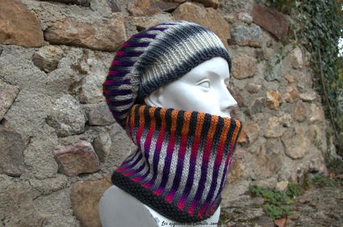 Ultra Knit Hat and Cowl