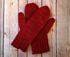 Basic Crochet Mittens