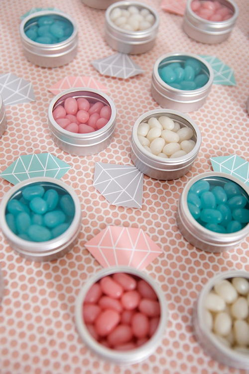 DIY Diamond Ring Candy Favors