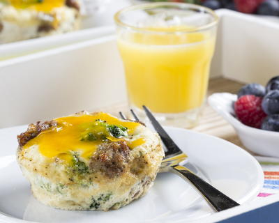 Sunshine Breakfast Muffin Cups