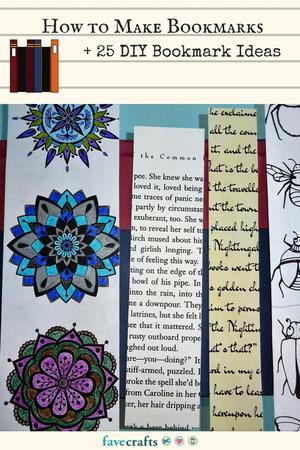 How to Make Bookmarks + 25 DIY Bookmark Ideas | FaveCrafts.com