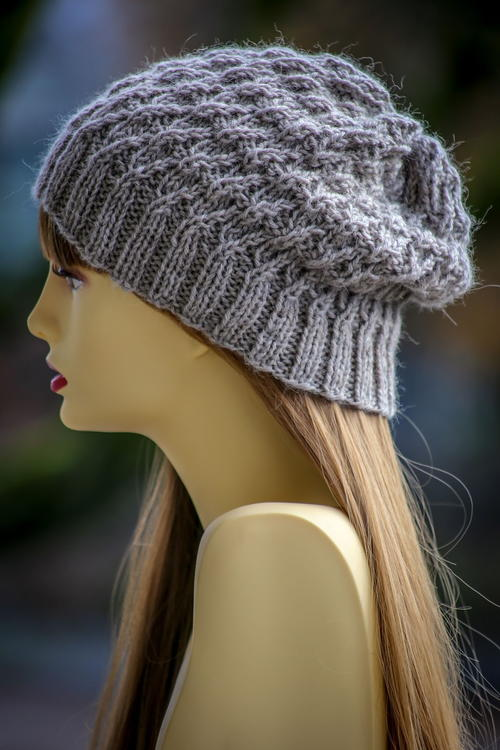 River Rush Knit Slouch Hat