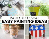 Paint Palooza: 54 Craft Painting Ideas