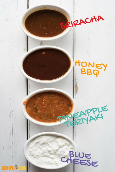 How to Make 4 Chicken Wing Dipping Sauces
