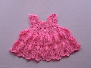 Pinky Pie Baby Dress
