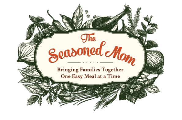 The Seasoned Mom logo
