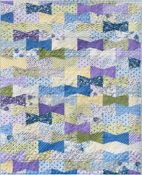 Dapper Free Throw Quilt Pattern