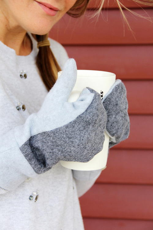 Cozy Wool Mittens Pattern