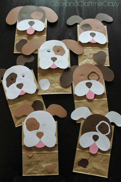Puppy Dog Party Bags
