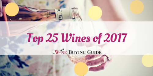 Top 25 Wines of 2017
