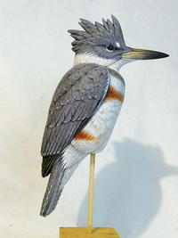 Hand-Made Kingfisher